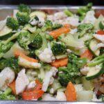 Capcai ( niet pittige groenten MET KIP)
