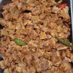 Tahu tempe taoco (zoet pittig tempe en tahu)
