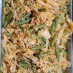 Urapan ( mild pittige groente met kokos)